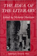 Cover for The Idea of the Literary
