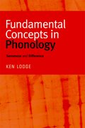 Cover for Fundamental Concepts in Phonology
