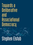 Cover for Towards a Deliberative and Associational Democracy