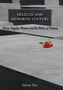 Cover for Deleuze and Memorial Culture