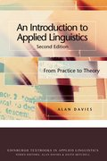 Cover for An Introduction to Applied Linguistics