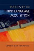 Cover for Processes in Third Language Acquisition