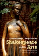 Cover for The Edinburgh Companion to Shakespeare and the Arts