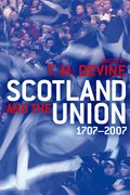 Cover for Scotland and the Union 1707-2007