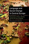 Cover for Language and Social Change in Central Europe