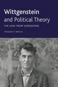 Cover for Wittgenstein and Political Theory