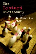 Cover for The Lyotard Dictionary