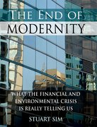 Cover for The End of Modernity