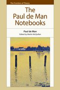 Cover for The Paul de Man Notebooks