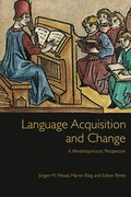 Cover for Language Acquisition and Change