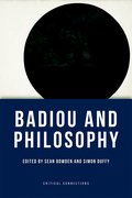 Cover for Badiou and Philosophy