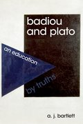 Cover for Badiou and Plato