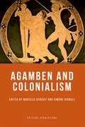 Cover for Agamben and Colonialism
