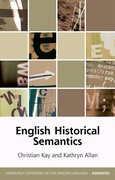 Cover for English Historical Semantics