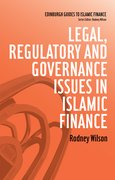 Cover for Legal, Regulatory and Governance Issues in Islamic Finance