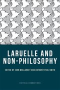 Cover for Laruelle and Non-Philosophy