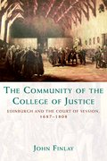 Cover for The Community of the College of Justice