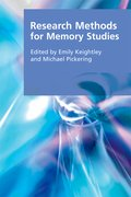 Cover for Research Methods for Memory Studies