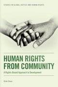 Cover for Human Rights from Community