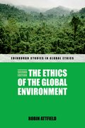 Cover for The Ethics of the Global Environment