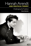 Cover for Hannah Arendt and Political Theory