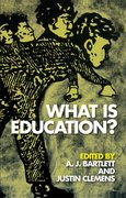 Cover for What is Education?