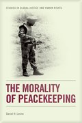 Cover for The Morality of Peacekeeping
