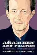 Cover for Agamben and Politics