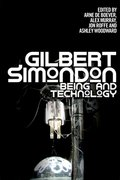 Cover for Gilbert Simondon