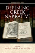 Cover for Defining Greek Narrative