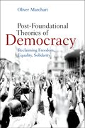 Cover for Post-Foundational Theories of Democracy