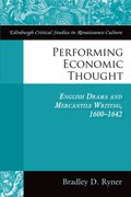 Cover for Performing Economic Thought