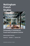 Cover for Photography in Contemporary French and Francophone Cultures