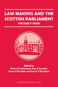 Cover for Law Making and the Scottish Parliament