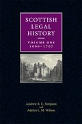 Cover for A New Perspective of Scottish Legal History, volume one