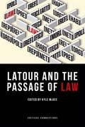 Cover for Latour and the Passage of Law