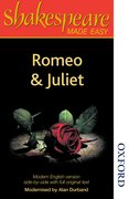 Cover for Shakespeare Made Easy - Romeo and Juliet