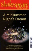 Cover for Shakespeare Made Easy - A Midsummer Night