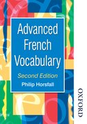 Cover for Advanced French Vocabulary Second Edition