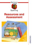 Cover for Nelson Spelling Resources and Assessment Book Red and Yellow Level