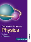 Cover for Calculations for A Level Physics Fourth Edition