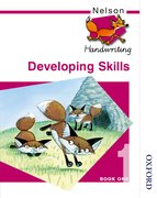 Cover for Nelson Handwriting Developing Skills Book 1