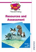 Cover for Nelson Handwriting Resources and Assessment Book 1 and Book 2