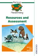 Cover for Nelson Handwriting Resources and Assessment Book 3 and Book 4