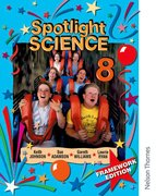 Cover for Spotlight Science 8: Framework Edition