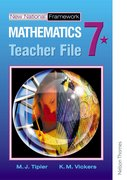 Cover for New National Framework Mathematics 7* Teacher Support File