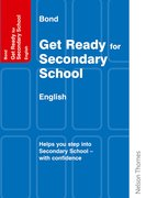 Cover for Bond Get Ready for Secondary School - English