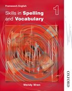 Cover for Nelson Thornes Framework English Skills in Spelling and Vocabulary 1
