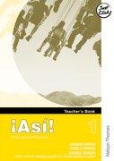 Cover for !Asi! 1Teacher