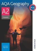 Cover for AQA Geography A2